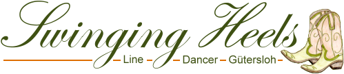 Logo der Swinging Heels Line Dancer Gütersloh